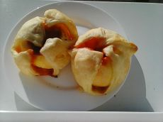 Rețetă - Balabuște cu gem de prune și migdale