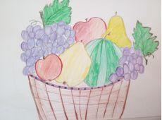 Activităţi educaţionale – desen cu fructe
