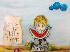 Fruct quilling și flori din hârtie - activități creative şi recreative