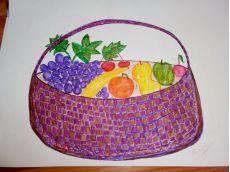 Alfabet cu fructe